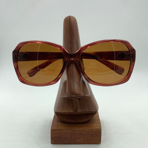 Vintage DKNY Burgundy Butterfly Sunglasses Frames